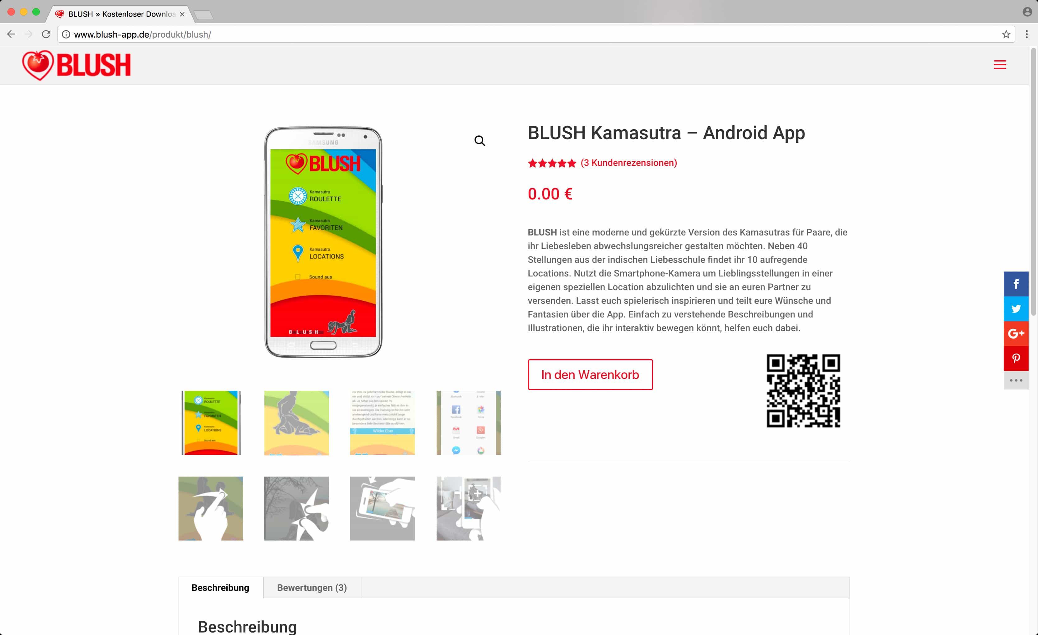 BLUSH – Shop (kostenloser Download)