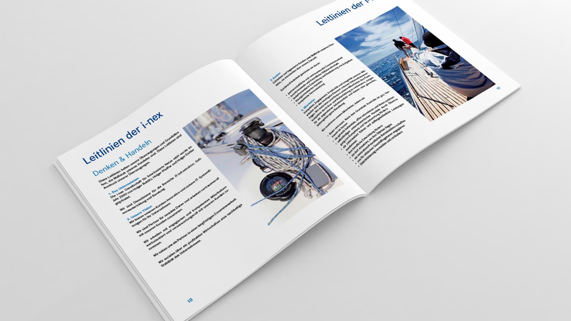 Broschüre i-nex GmbH