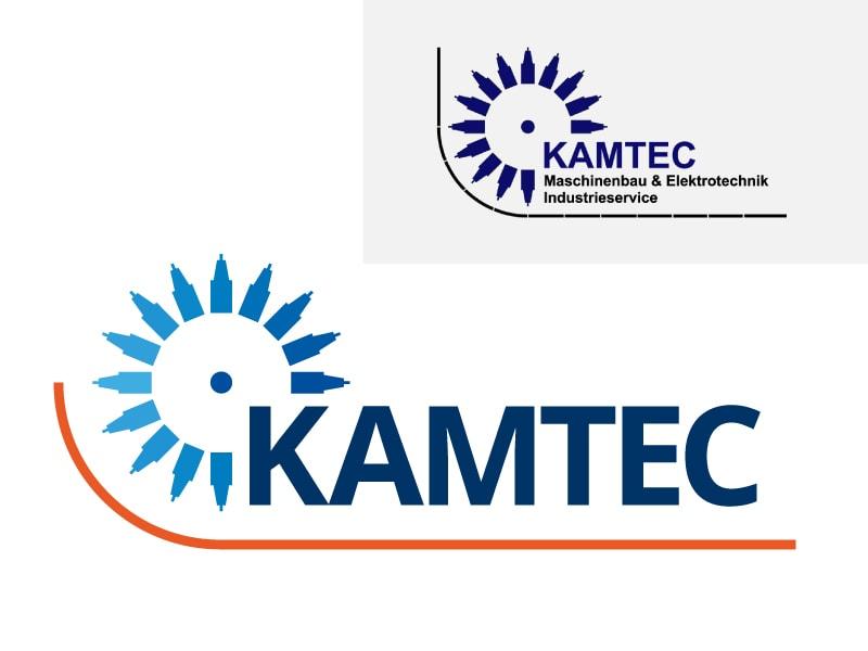 Logo-Redesign KAMTEC (Maschinenbau & Industrieservice)