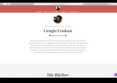 Cengiz Coskun – Autorenseite www.cengiz-coskun.de, Gestaltung und Umsetzung: Elementardesign